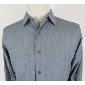 John Varvatos Medium Slim Fit L/S Shirt Striped